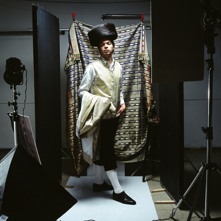 Autoportret/ fot. Benyamin Reich