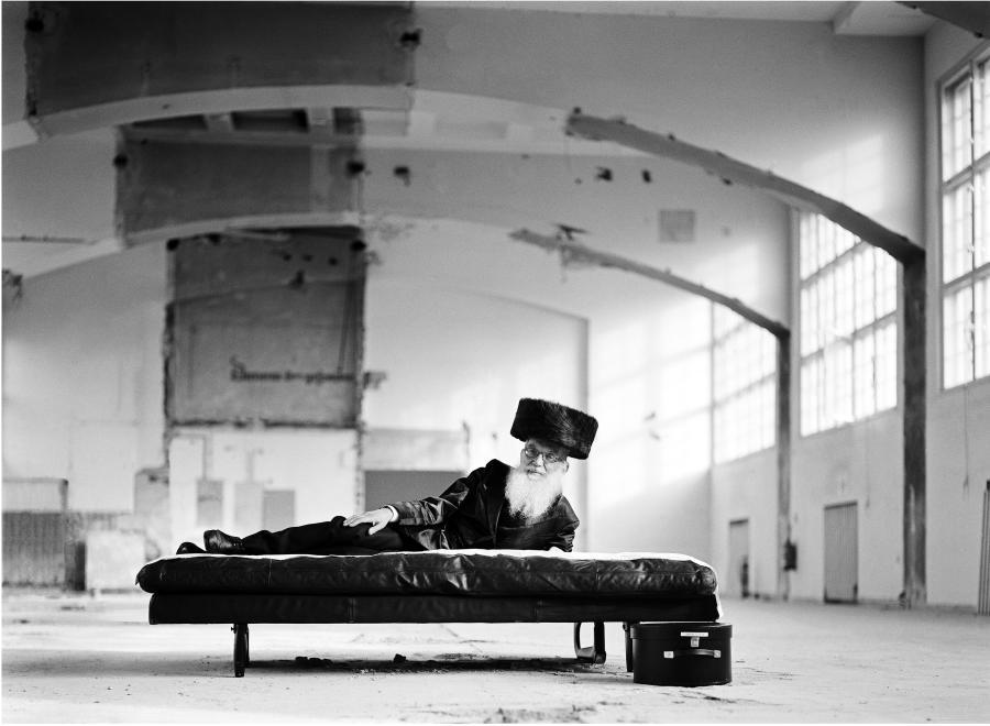 Na fotografii pozuje ojciec Benyamina Reicha /fot. Benyamin Reich