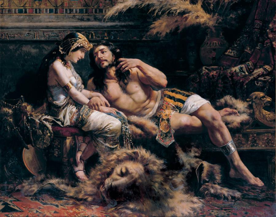 Nazirejczyk Samson i Dalila, José Echenagusía/ Wikipedia