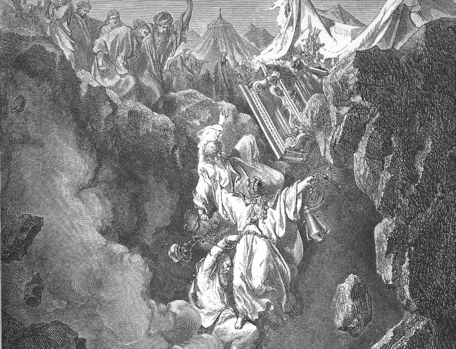 """""""Śmierć Koracha, Datana i Abirama"""", Gustave Doré/ Wikipedia"""
