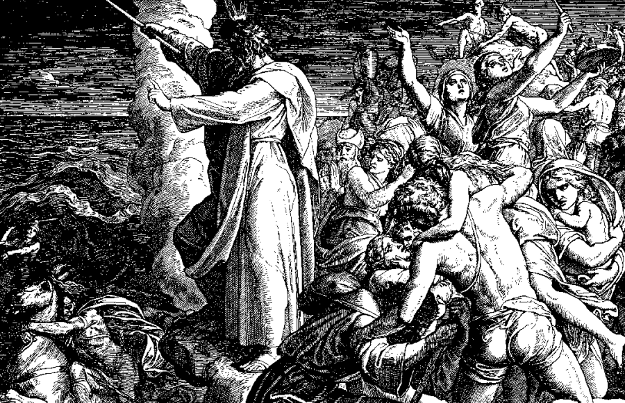 Pieśń Miriam, Julius Schnorr von Carolsfeld/ Wikipedia