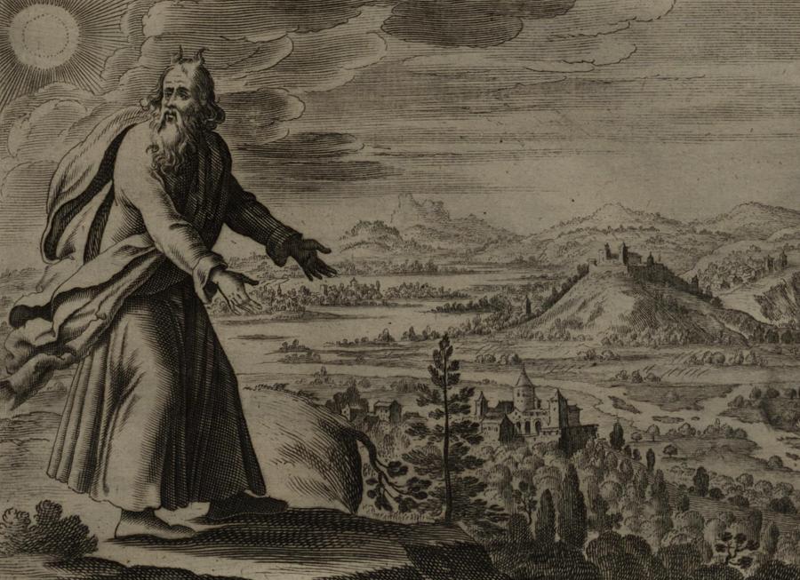 """""""Mojżesz widzi Ziemię Obiecaną"""", Gerard Jollain/ Wikipedia"""