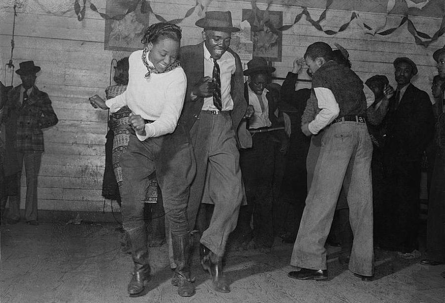 Para tańcząca swinga/ Wikipedia