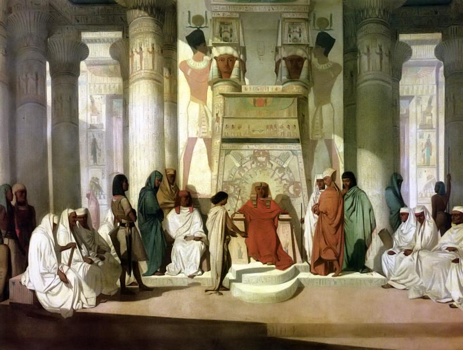 """Józef interpretuje sen faraona"", Adrien Guignet/ Wikipedia"