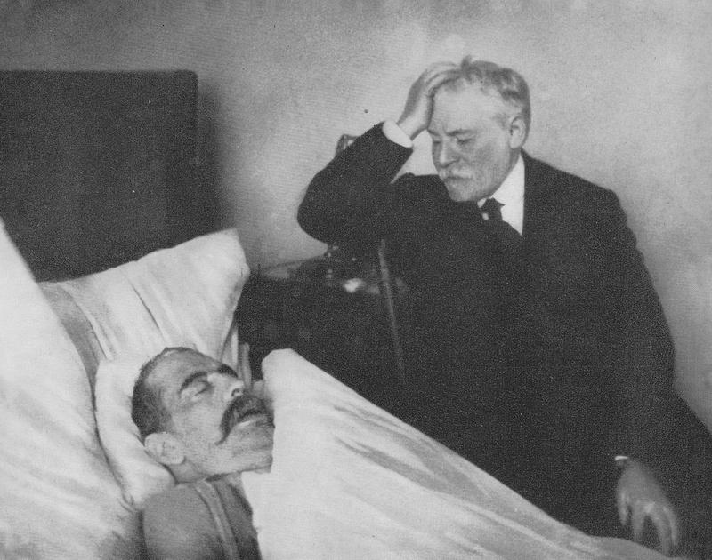Dinezon czuwający przy zmarłym Perecu