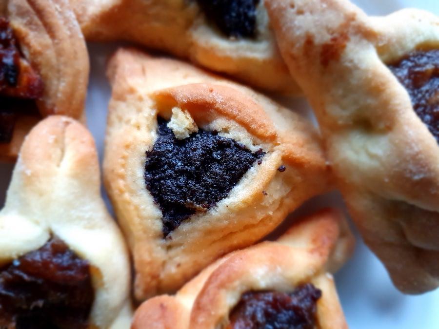 Hamantasze  – tradycyjne ciasteczka na Purim / Fot. Chidusz