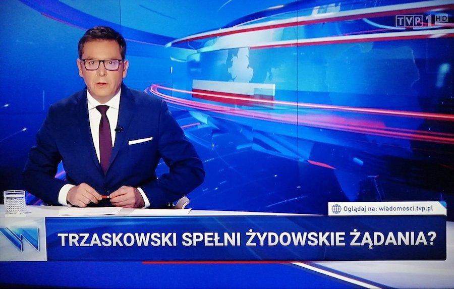 """""""Trzaskowski spełni żydowskie żądania?"""""""