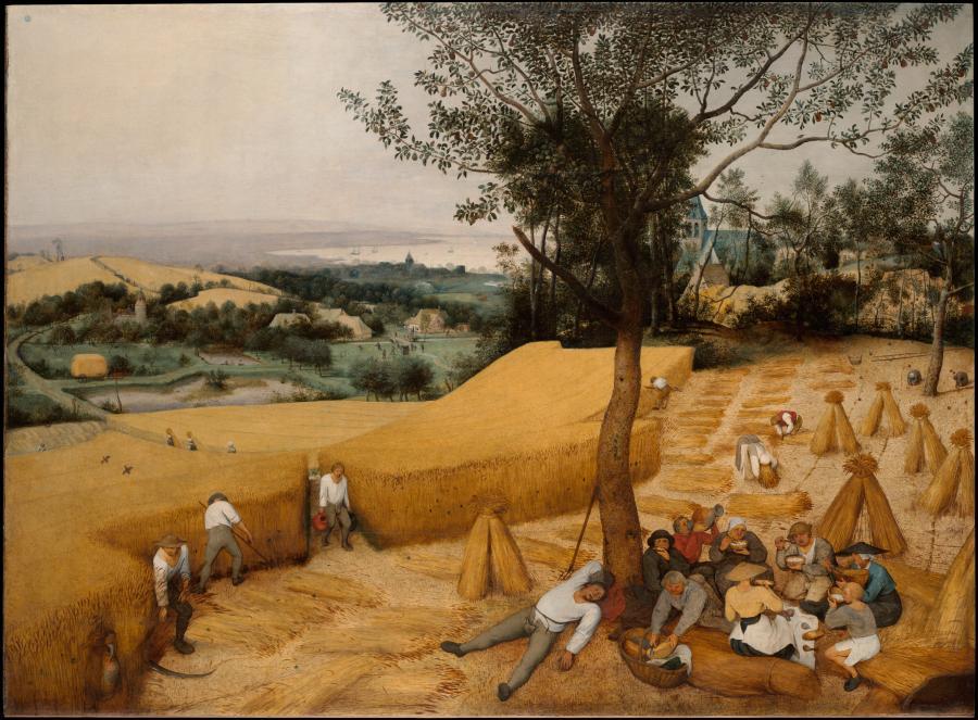 Pieter Brueger (starszy), Żniwa, 1565 / metmuseum.org
